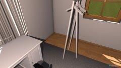 Raumgestaltung Lulus Zimmer in der Kategorie Schlafzimmer