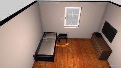 Raumgestaltung Malik Zimmer in der Kategorie Schlafzimmer