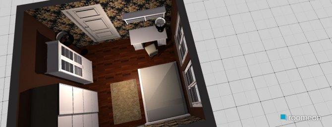 Raumgestaltung Mamas Schlafzimmer in der Kategorie Schlafzimmer