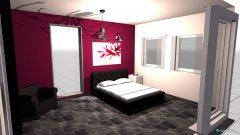Raumgestaltung Mamas Zimmer in der Kategorie Schlafzimmer