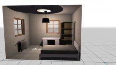 Raumgestaltung mammas gamla rum in der Kategorie Schlafzimmer