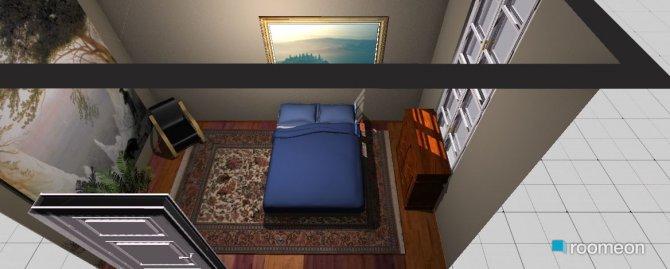 Raumgestaltung  Manior Schlafzimmer in der Kategorie Schlafzimmer