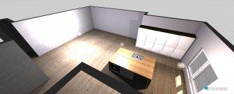 Raumgestaltung Mansarda in der Kategorie Schlafzimmer