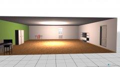 Raumgestaltung Mara's Zimmer in der Kategorie Schlafzimmer