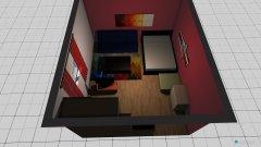 Raumgestaltung Marcs Zimmer Idee 2 in der Kategorie Schlafzimmer