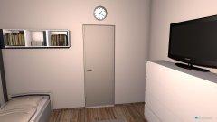 Raumgestaltung Maria's Zimmer in der Kategorie Schlafzimmer