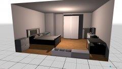 Raumgestaltung marina zimmer in der Kategorie Schlafzimmer