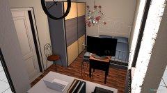 Raumgestaltung Marions Zimmer in der Kategorie Schlafzimmer