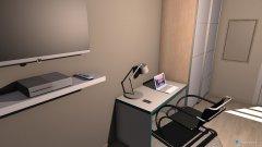 Raumgestaltung Marta - Pokój in der Kategorie Schlafzimmer
