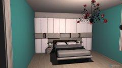 Raumgestaltung marys zimmer in der Kategorie Schlafzimmer