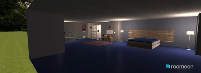 Raumgestaltung master room in der Kategorie Schlafzimmer