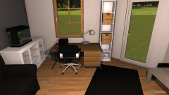 Raumgestaltung mei zimmer la in der Kategorie Schlafzimmer