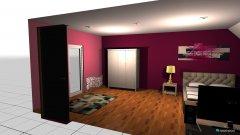 Raumgestaltung mein zimmer 1.1 in der Kategorie Schlafzimmer