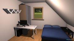 Raumgestaltung Mein Zimmer 1 in der Kategorie Schlafzimmer