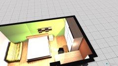Raumgestaltung Mein Zimmer I in der Kategorie Schlafzimmer