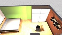 Raumgestaltung Mein Zimmer III in der Kategorie Schlafzimmer