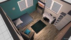 Raumgestaltung mein zimmer petrol in der Kategorie Schlafzimmer