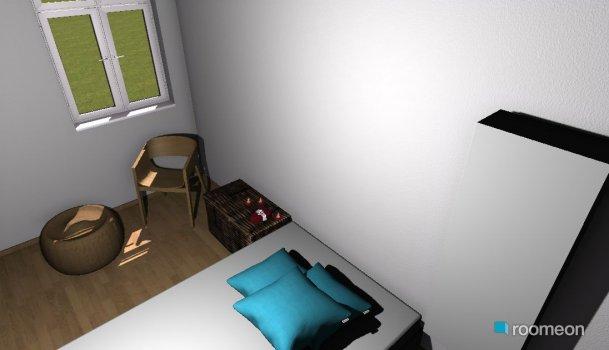 Raumgestaltung Mein Zimmer - Raumteiler in der Kategorie Schlafzimmer