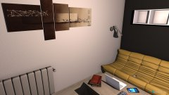 Raumgestaltung Mein Zimmer - Variante 1 in der Kategorie Schlafzimmer