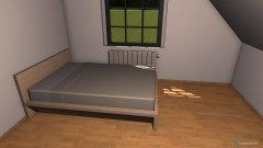 Raumgestaltung mein Zimmer Zuhause in der Kategorie Schlafzimmer