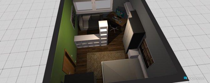 Raumgestaltung mein zimmer3 in der Kategorie Schlafzimmer