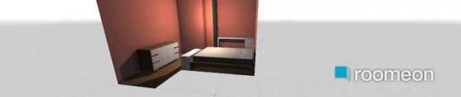 Raumgestaltung mein_zimmer in der Kategorie Schlafzimmer