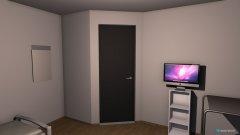 Raumgestaltung mela Zimmer in der Kategorie Schlafzimmer