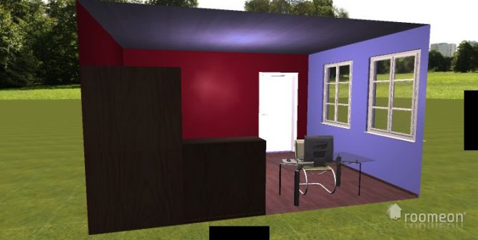 Raumgestaltung melanie1 in der Kategorie Schlafzimmer