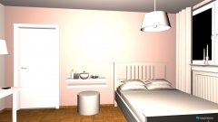 Raumgestaltung melis zimmer in der Kategorie Schlafzimmer