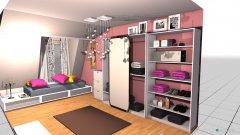 Raumgestaltung Merima stan pravi in der Kategorie Schlafzimmer