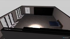 Raumgestaltung mi bedroom in der Kategorie Schlafzimmer