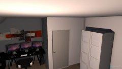 Raumgestaltung miauuuu in der Kategorie Schlafzimmer
