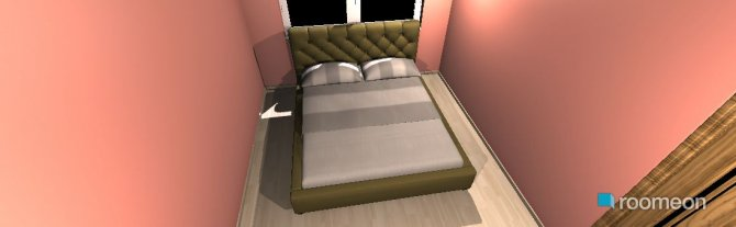 Raumgestaltung miegamasis in der Kategorie Schlafzimmer