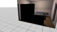 Raumgestaltung Milli in der Kategorie Schlafzimmer