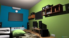 Raumgestaltung Mini Bedroom in der Kategorie Schlafzimmer