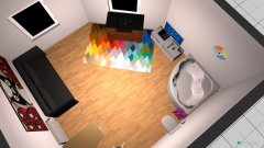 Raumgestaltung mini house in der Kategorie Schlafzimmer