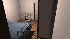 Raumgestaltung mit PAX Kleiderschrank in der Kategorie Schlafzimmer
