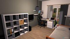 Raumgestaltung Mittleres Zimmer in der Kategorie Schlafzimmer