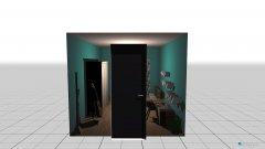 Raumgestaltung modern livingroom in der Kategorie Schlafzimmer
