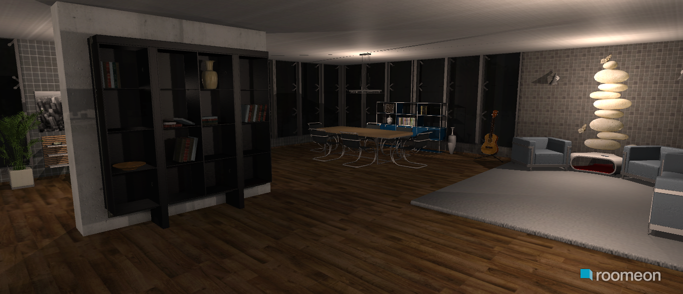 raumplanung modern one room house roomeon community