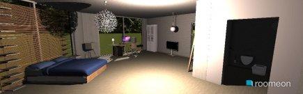 Raumgestaltung modern in der Kategorie Schlafzimmer