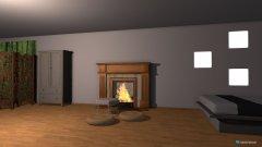 Raumgestaltung modernes hochertiges zimmer in der Kategorie Schlafzimmer