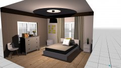 Raumgestaltung Moms Small Bedroom in der Kategorie Schlafzimmer