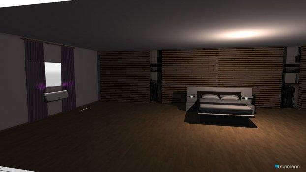 Raumgestaltung motel in der Kategorie Schlafzimmer