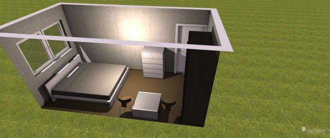 Raumgestaltung Mühsamstraße in der Kategorie Schlafzimmer