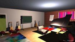 Raumgestaltung music room in der Kategorie Schlafzimmer