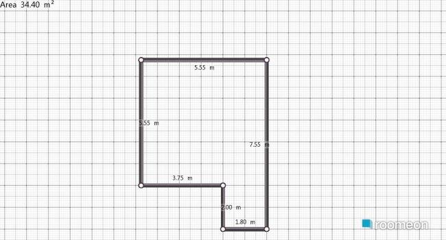 Raumgestaltung My badroom in der Kategorie Schlafzimmer