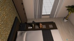 Raumgestaltung My Favorite selfstrucured BedRoom in der Kategorie Schlafzimmer