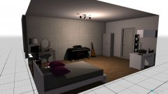 Raumgestaltung My rome in der Kategorie Schlafzimmer