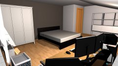 Raumgestaltung myroom in der Kategorie Schlafzimmer